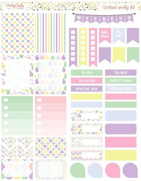 free printable easter planner stickers las 25 mejores ideas sobre plantillas de planificaci 243 n de