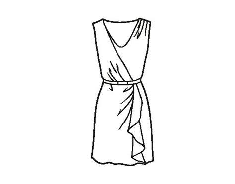 simple dress coloring page simple dress coloring page coloringcrew com