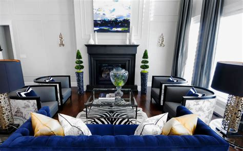 royal blue room royal living room blue accents home decorating trends