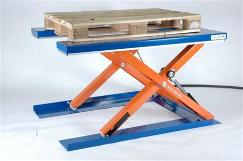 low profile lift table scissor lift tables low profile cub 1000 edmolift