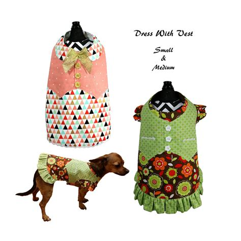 pattern pet clothes dog dress pattern dog clothes sewing pattern pdf tutorial