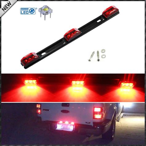 trailer led light bar 1 3 l truck trailer id led light bar for ford