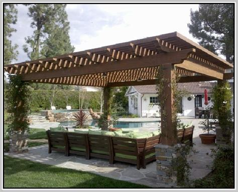 plans for pergola attached to house plans for a pergola attached to house house plans