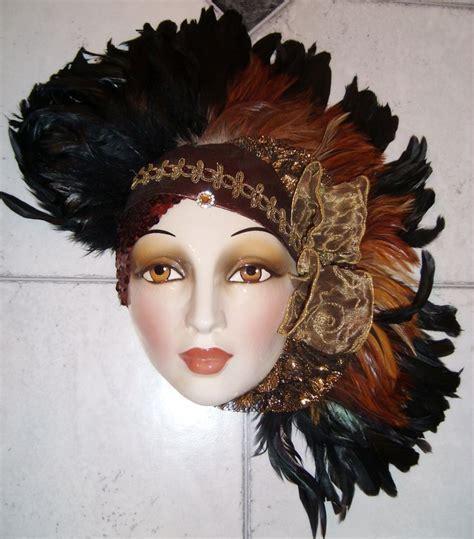 decorative wall masks clay art ceramic decorative collectible face wall mask