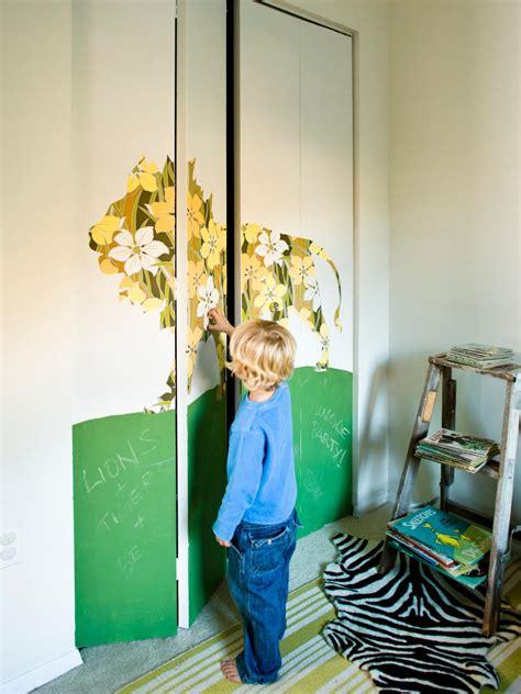 give bland closet doors  designer upgrade hgtvs