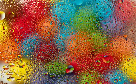 wallpaper colorful water water drops colorful rainbow rain glass water drops glass