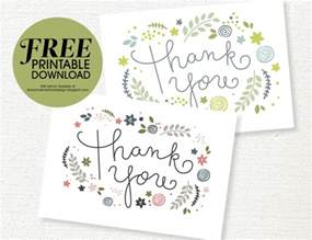 free printable thank you card she