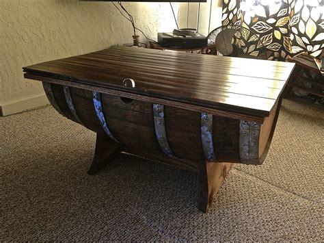 wine barrel end table wine barrel coffee table stave designsstave designs