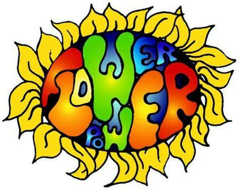 simboli figli dei fiori hippie flower power clipart clipart suggest