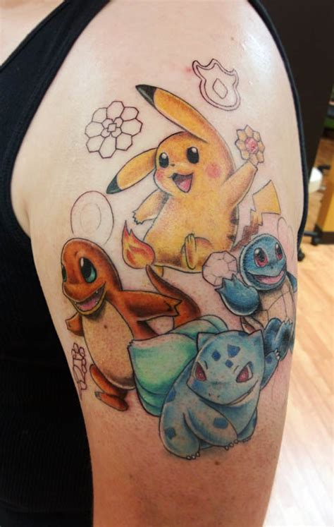 pokemon tattoo ideas tattoos designs ideas and meaning tattoos for you
