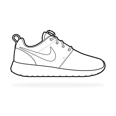 the gallery for gt nike running shoes coloring pages