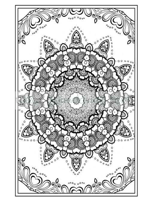 anti stress colouring book pdf colouring in pdf zen mandalas garden anti