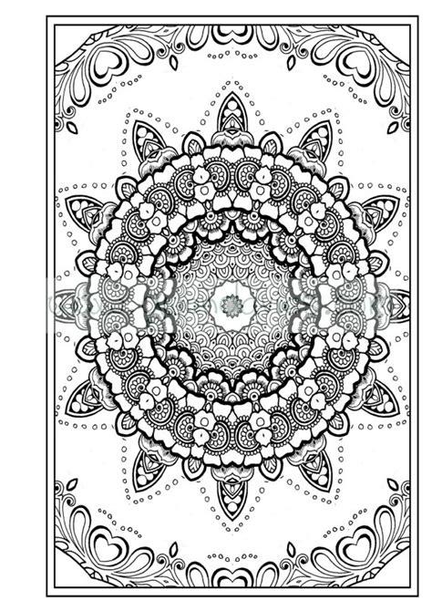 anti stress coloring book pdf free colouring in pdf zen mandalas garden anti