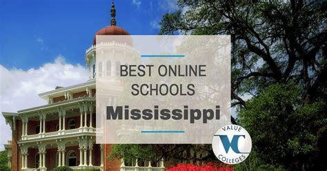 Mississippi State Mba Ranking by Top 10 Best Colleges In Mississippi Value Colleges