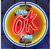 Ebay Seller Beertownusa Has This Vintage Used OK Cars Neon