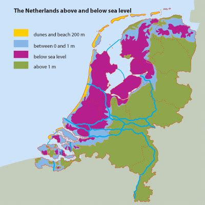 netherlands map below sea level ipcc sea level blunder angers environment minister australian climate madness
