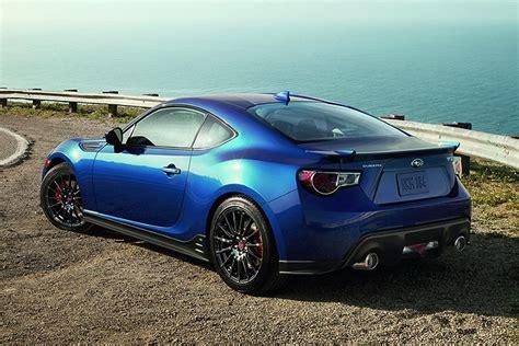 subaru usa s new 2015 brz series blue with sti parts has a