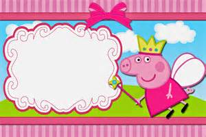 peppa pig birthday invitations templates ideas amazing