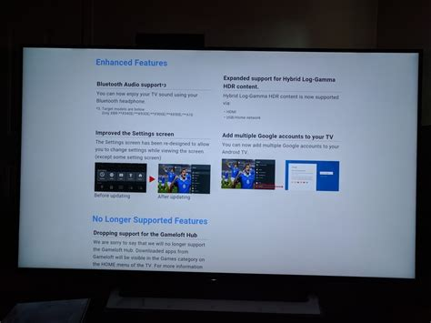 android tv update is sony prepping to update android tv models to nougat android community