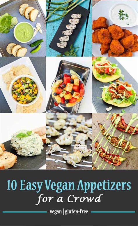 vegan appetizer recipes for a 10 easy vegan appetizers for a crowd vegetarian gastronomy