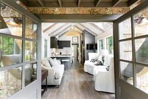 Glamorous Tiny House warning these clayton designer series tiny homes are