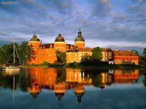 known places gripsholm castle mariefred sweden desktop