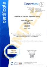 pat testing certificate template certificate of electrical