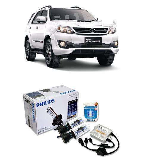 Lu Hid Mobil Philips philips hid kit for toyota fortuner buy philips hid kit for toyota fortuner at low price
