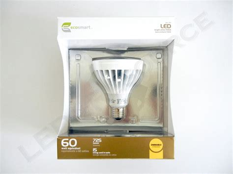 ecosmart light bulbs warranty home ecosmart par20 and par30 led review led