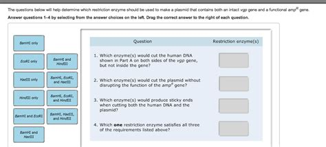 tutorial questions on enzymes solved the questions below will help determine which rest