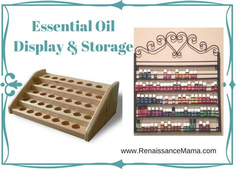Kitchen Updates Ideas by Essential Oil Display And Storage Ideas Renaissance Mama