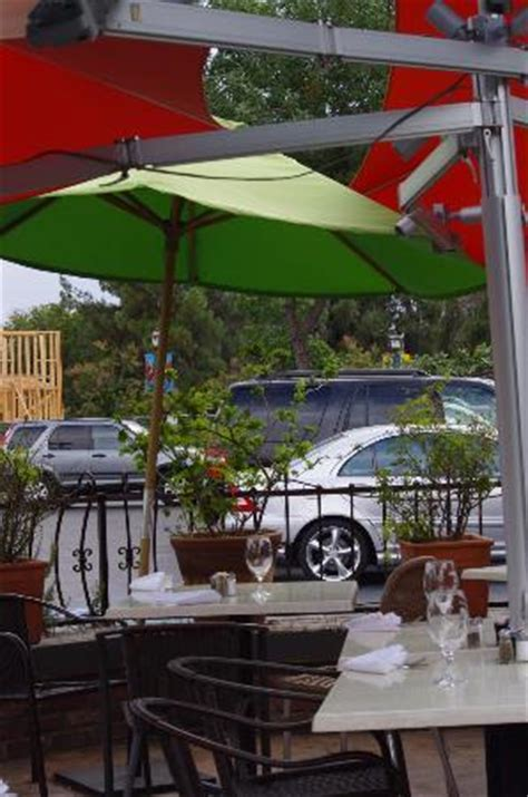 beautiful outdoor dining in fig garden picture