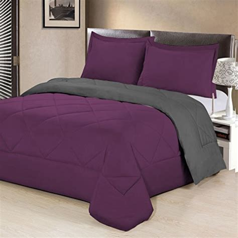 aurora bedding 3 piece reversible luxurious brushed
