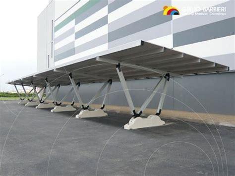 tettoia pensilina strutture a pensilina per auto