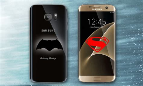Marvel Comics Vs Superman D0311 Samsung Galaxy S6 Edge Casing Cus samsung preparar 237 a un galaxy s7 edge batman vs superman