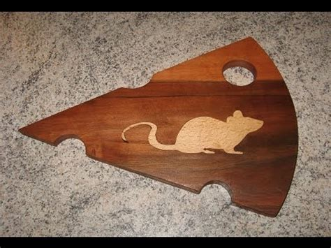 inlay patterns woodworking make a wooden cheese board with inlay woodworking