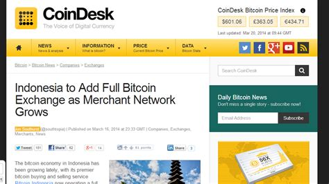 Bitcoin Merchant Account by Indonesia To Add Bitcoin Exchange As Merchant Network