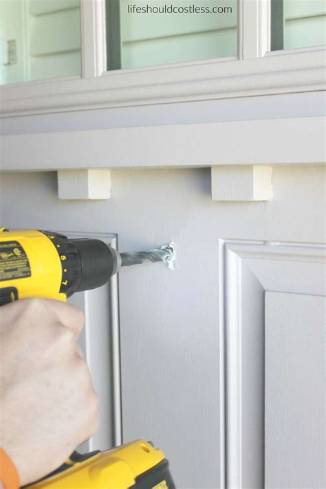 cost to install front door installing a peephole in front door how to install a