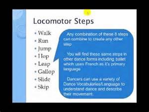 locomotor and non locomotor movement