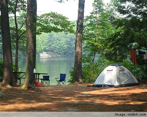 nh rv parks and cgrounds north woods white mountains new hshire cing rv cgrounds in new hshire