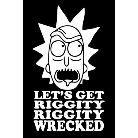 Rick And Morty Vinyl Stickers