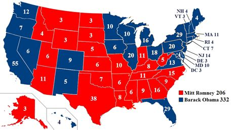 usa states voting map list of candidates in the united states presidential