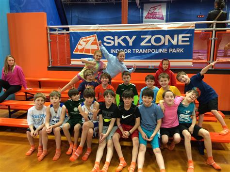 themes zone smarty birthday party idea sky zone a smarty steal to