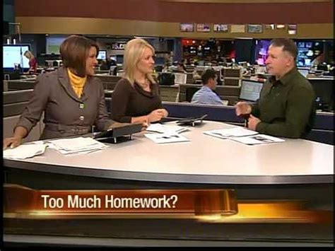 More News by Are Being Given Much Homework