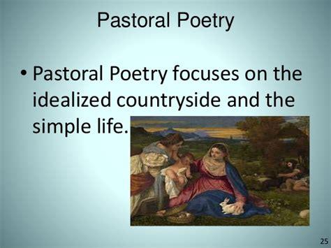themes in pastoral literature renaissance period literature