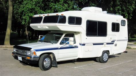 toyota motorhome 1990 toyota sunrader 21 ft v6 auto motorhome for sale in