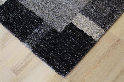 teppiche 120x170 rug mehari ragolle 23002 frame 5248 grey black 120x170 cm