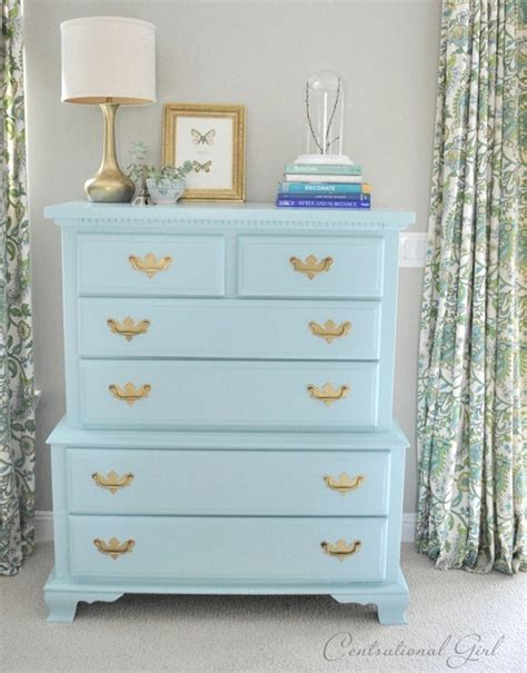 Dresser Or Bureau by A Blue Bureau Favorite Paints For Furniture
