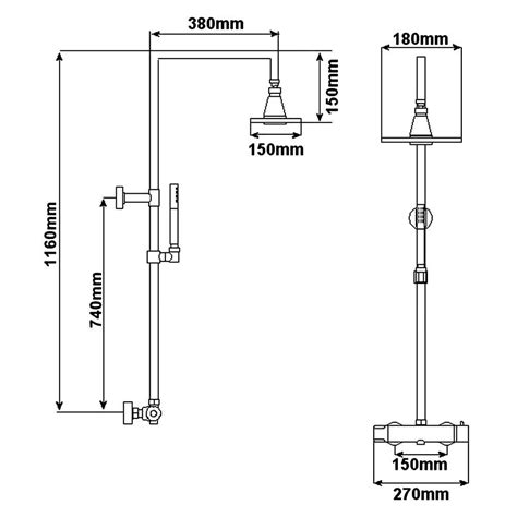 doccia termostatica colonna doccia termostatica completa con miscelatore
