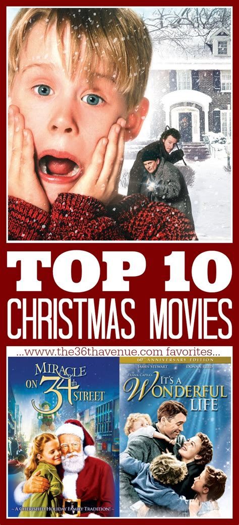 top 10 christmas movies the 36th avenue